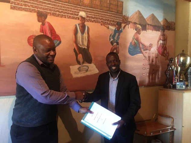 Sport In Action And Junior Achievement Zambia Sign MoU