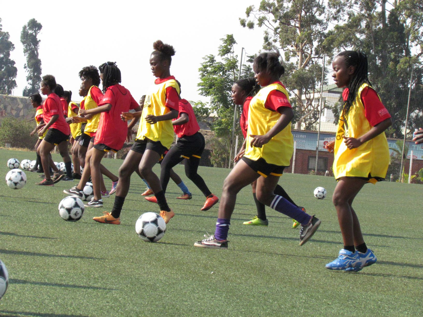 Female Football Coaches Training Kicks Off At OYDC